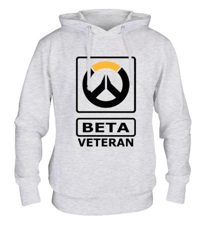 Толстовка с капюшоном Overwatch: Beta Veteran
