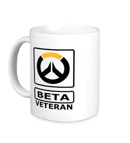 Керамическая кружка Overwatch: Beta Veteran