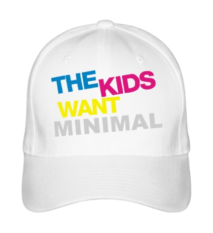 Бейсболка The Kids want minimal