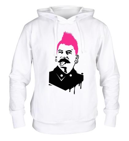 Толстовка с капюшоном Сталин-панк