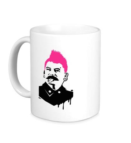 Керамическая кружка Сталин-панк
