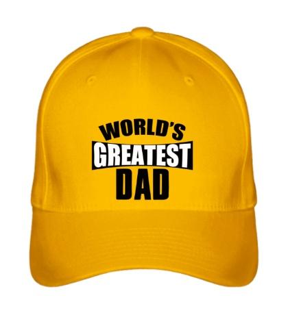 Бейсболка Worlds Greatest Dad
