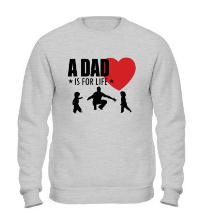 Свитшот A Dad is for life