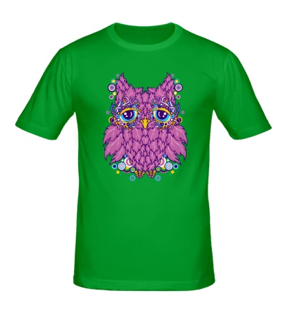 Мужская футболка Виноградная сова