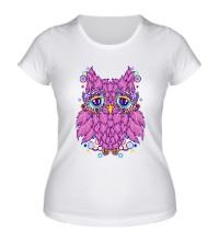 Женская футболка Виноградная сова