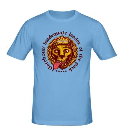 Мужская футболка Волк с короной