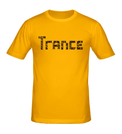 Мужская футболка Trance Sign