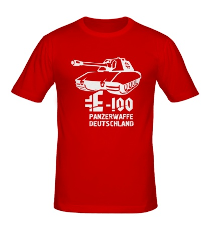 Мужская футболка E-100 Panzerwaffe