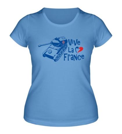 Женская футболка AMX 12t Viva la France