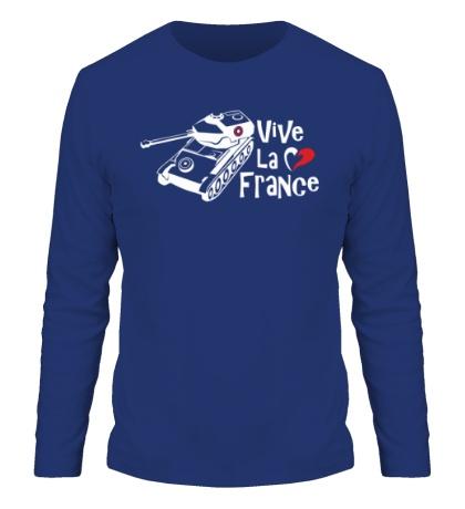 Мужской лонгслив AMX 12t Viva la France
