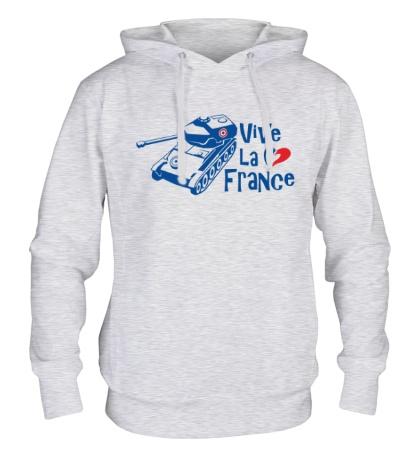 Толстовка с капюшоном AMX 12t Viva la France