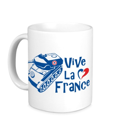 Керамическая кружка AMX 12t Viva la France