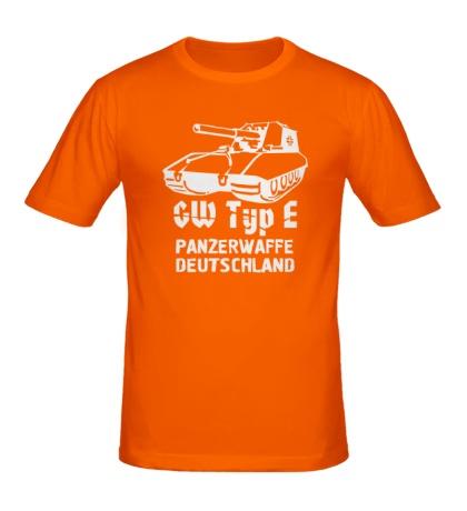Мужская футболка GW Typ E Panzerwaffe