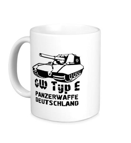 Керамическая кружка GW Typ E Panzerwaffe