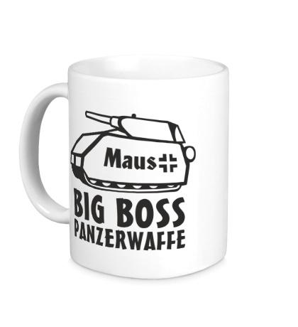Керамическая кружка Maus Big Boss