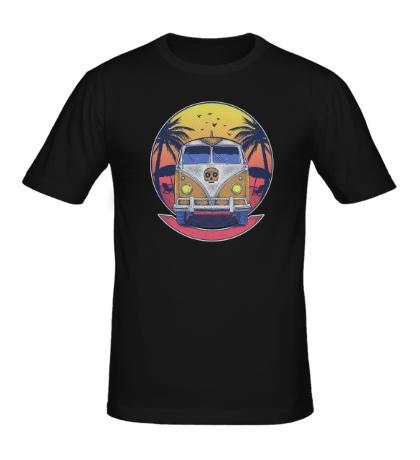 Мужская футболка Beach Volkswagen