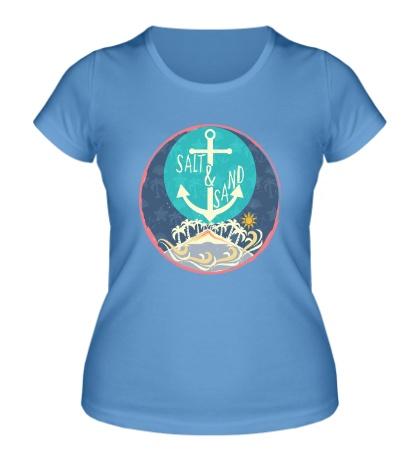 Женская футболка Salt & Sand