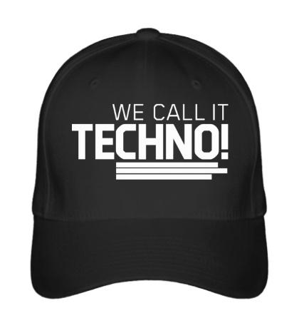 Бейсболка We call it Techno