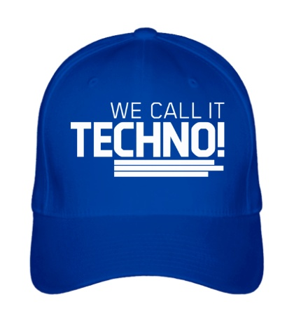Бейсболка We call it Techno