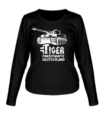 Женский лонгслив Tiger Panzerwaffe