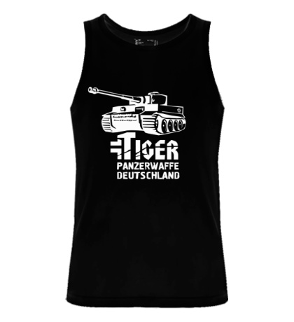 Мужская майка Tiger Panzerwaffe