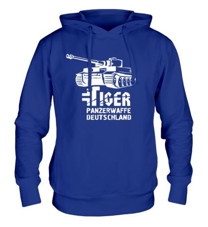 Толстовка с капюшоном Tiger Panzerwaffe