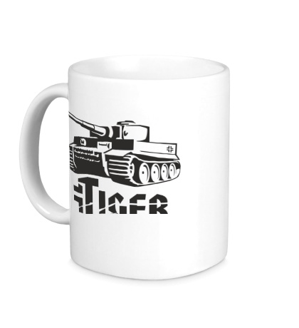 Керамическая кружка Tiger Panzerwaffe