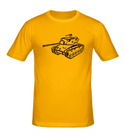 Мужская футболка Танк Чаффи