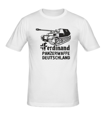 Мужская футболка Ferdinand Panzerwaffe