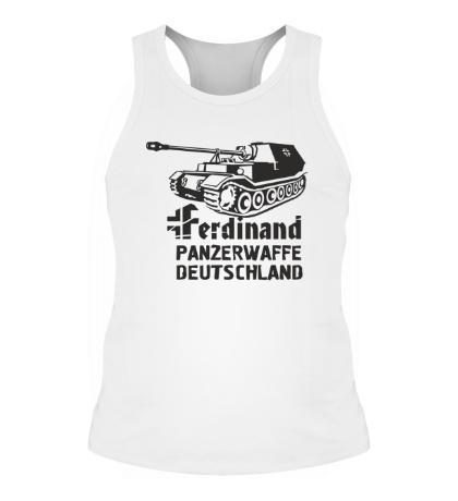 Мужская борцовка Ferdinand Panzerwaffe