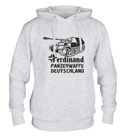 Толстовка с капюшоном Ferdinand Panzerwaffe