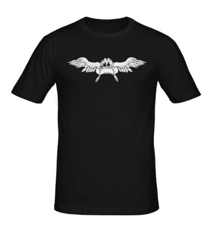 Мужская футболка Крылья танкиста