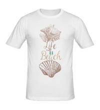 Мужская футболка Life is a Beach