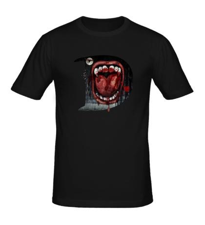 Мужская футболка Drakula