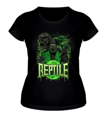 Женская футболка Toxic Reptile