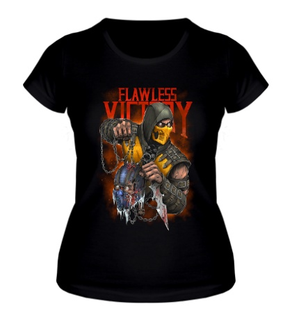 Женская футболка Scorpion Flawless Victory