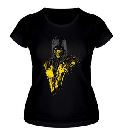 Женская футболка Mortal Fire