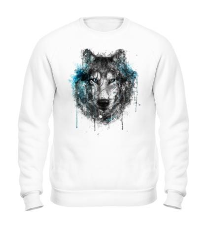 Свитшот Абстракция волка