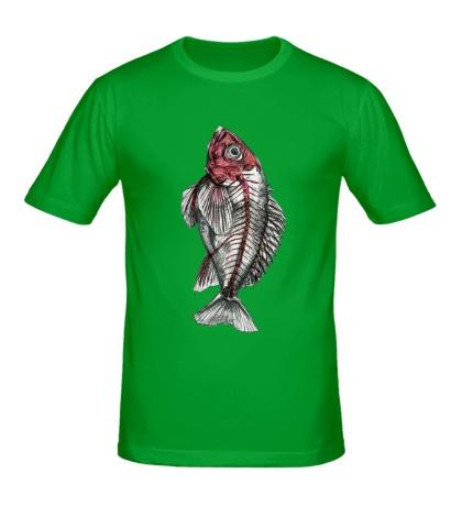 Мужская футболка Рентген рыбы