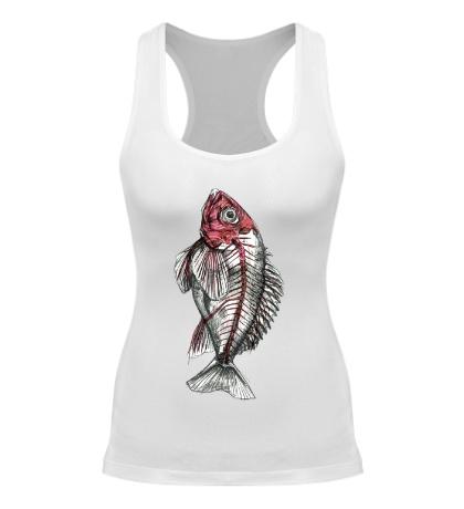 Женская борцовка Рентген рыбы