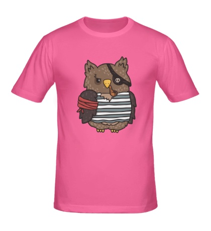 Мужская футболка Сова-пират