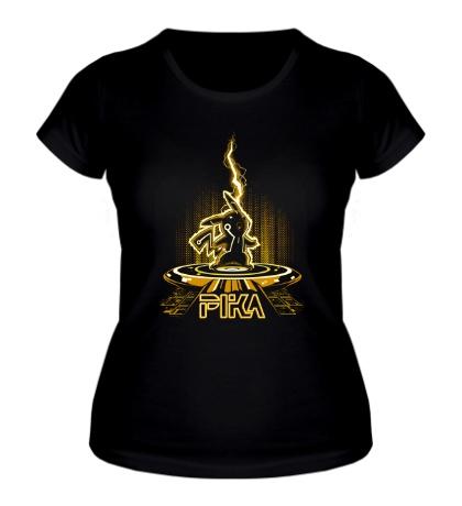 Женская футболка Pikathrone