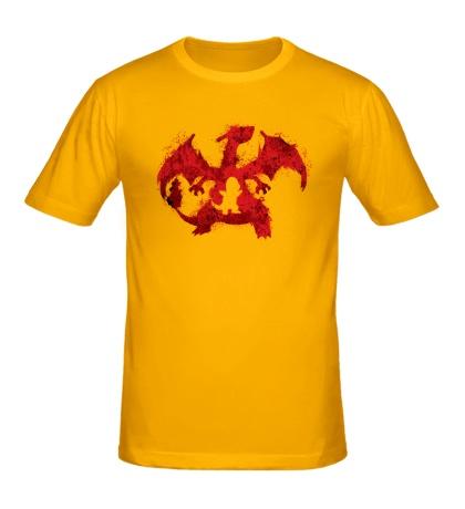 Мужская футболка Charizard
