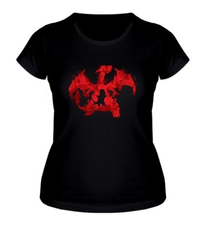 Женская футболка Charizard