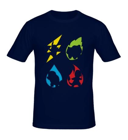 Мужская футболка Element Pokemon