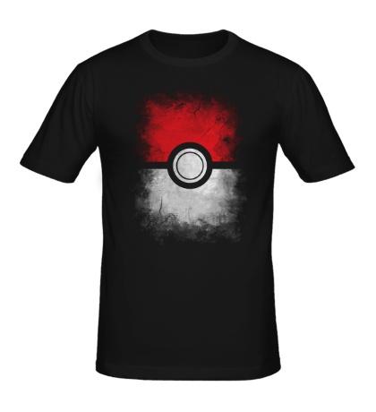 Мужская футболка Pokeball
