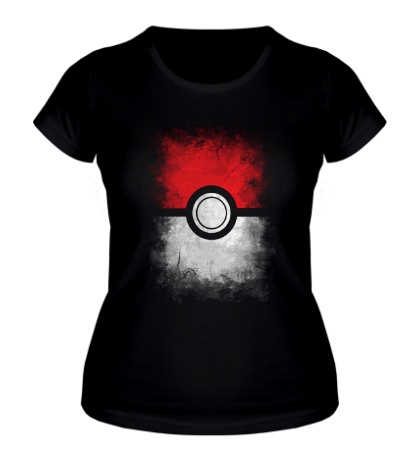 Женская футболка Pokeball