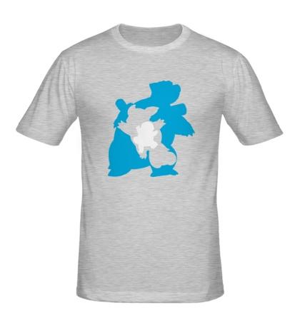 Мужская футболка Water turtle