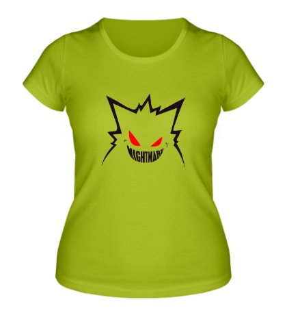 Женская футболка Angry Nightmare