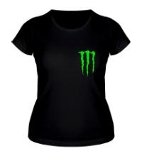 Женская футболка Monster Energy Symbol